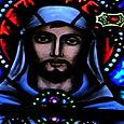 St. Columban, detail