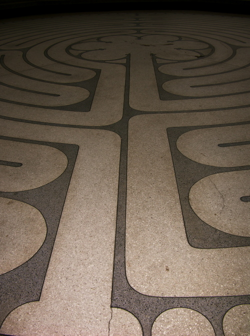 pic of the outside labyrinth...