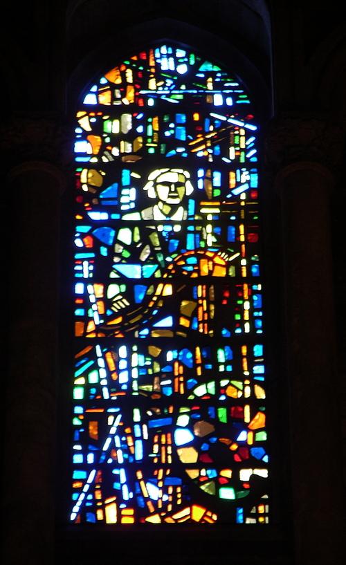 Dalle windows by G. Loire