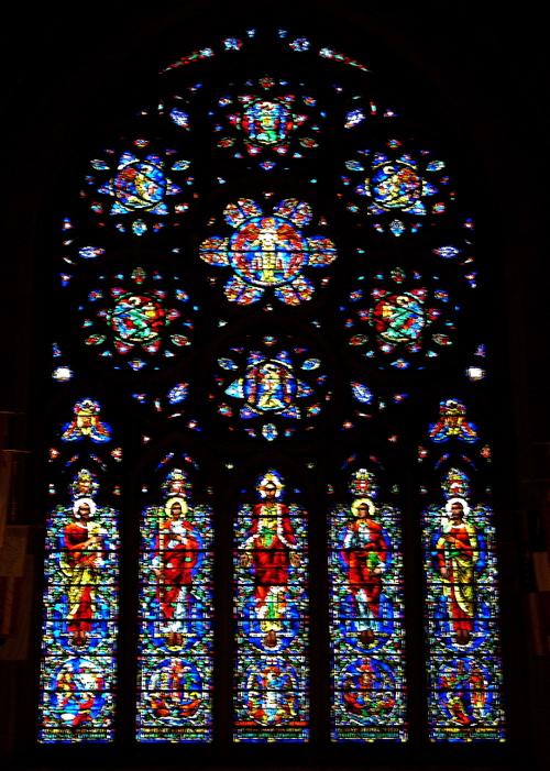East Transept window