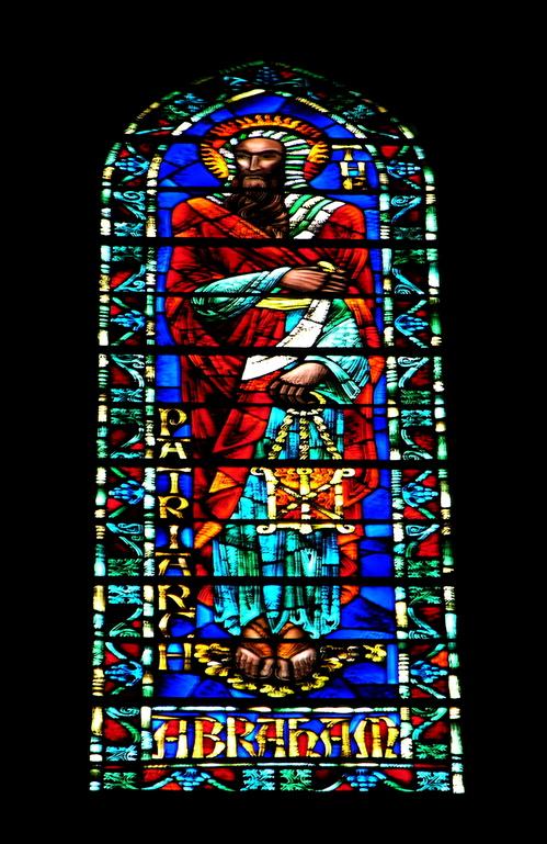 Abraham, clerestory window