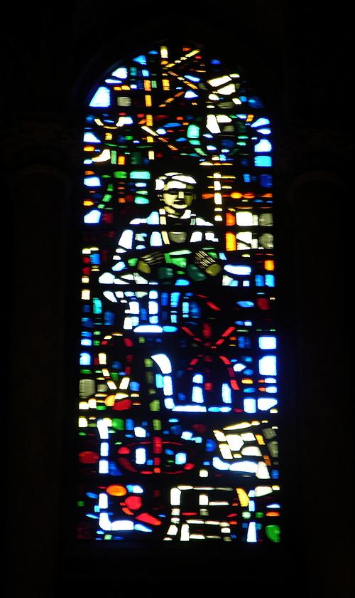 Clerestory window by G. Loire