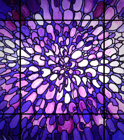 Vortexglassweb