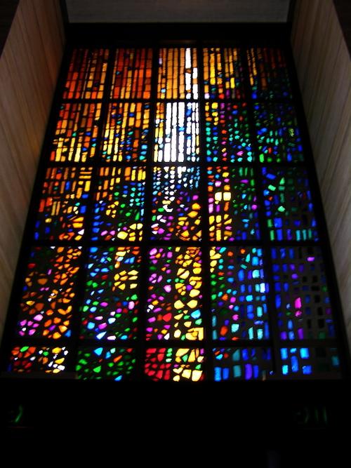 dalle de verre curtain