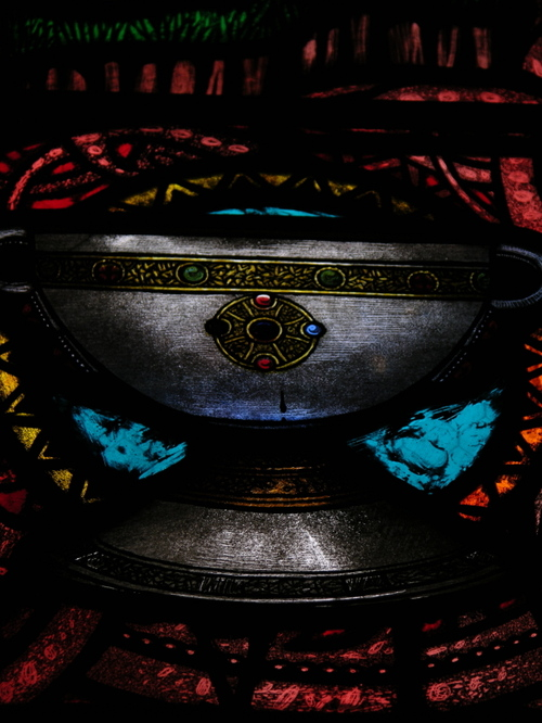 detail of a chalice