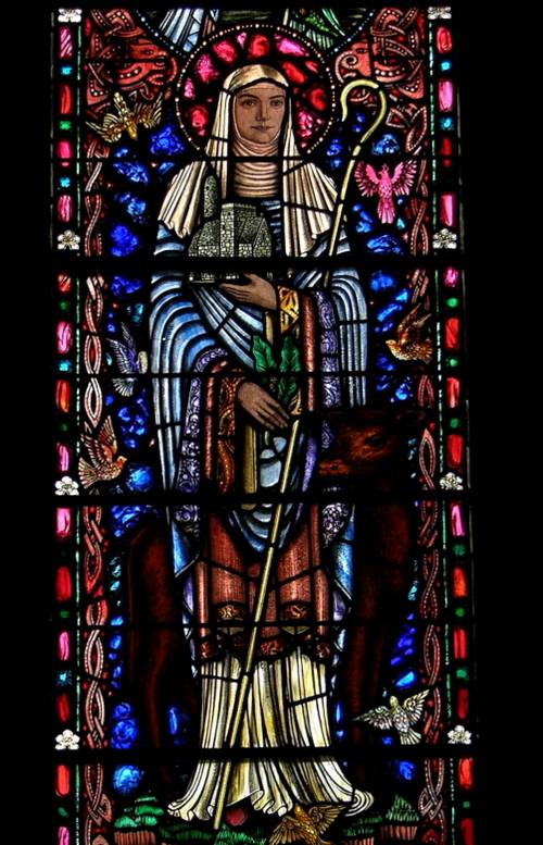 Saint Brigid window