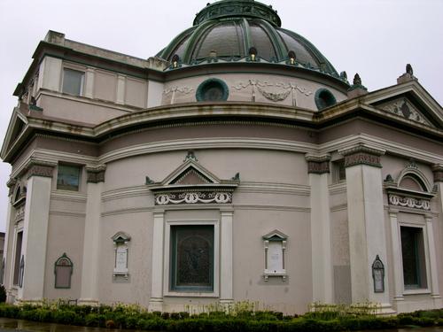 Outside of the Columbarium